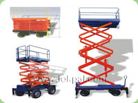 Multi Scissor Lift Table, Scissor Lift Table Distributor, Scissor Lift Tables Manufacturer, Noida, India