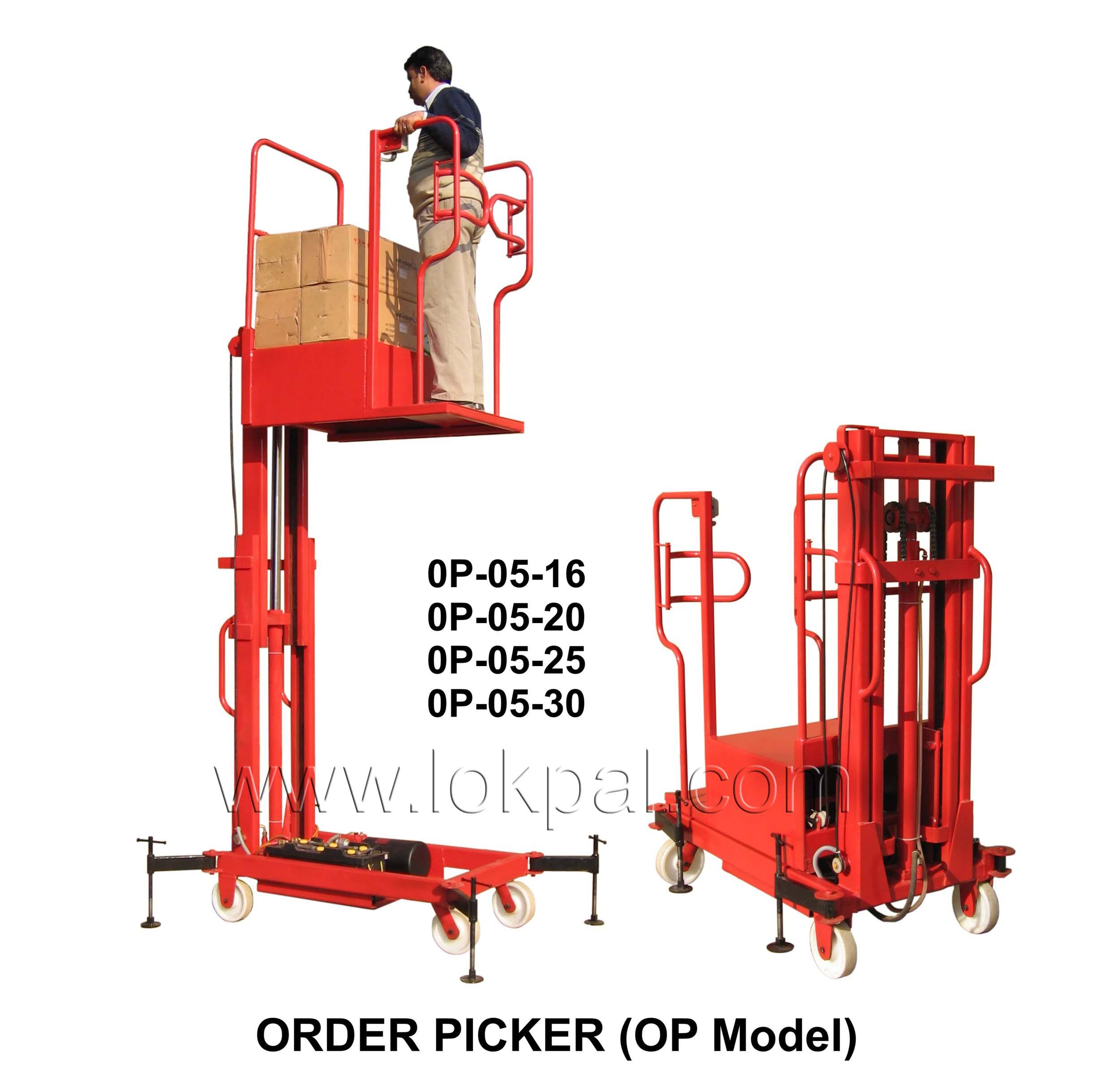 Order Picker, Manufacturer, Good Lifts Supplier, India