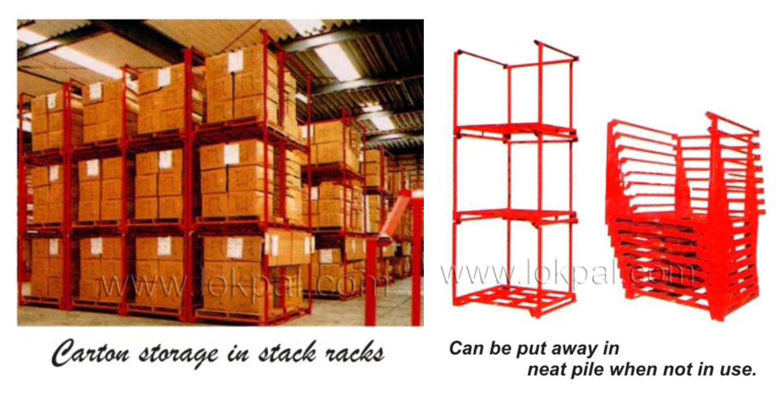 Stackable Racks, Stackable Rack Supplier, Stackable Racks Manufacturer, Wholesaler, India